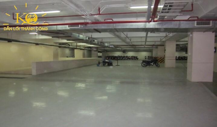 hầm để xe tòa nhà  Maritime Bank Tower