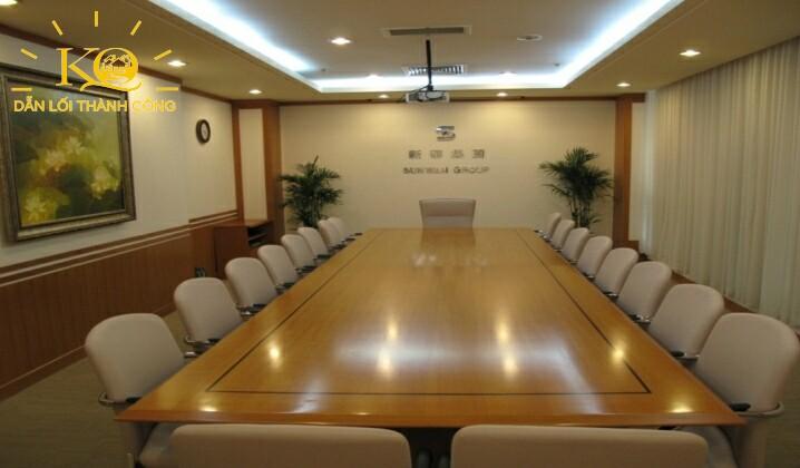 Phòng họp tại sun wah tower